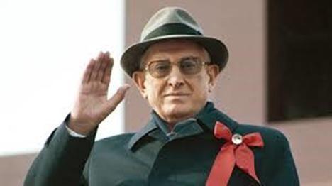 Yuri Andrópov (1914-1984). Secretario General del Partido Comunista de la Unión Soviética (1982-1984). (Foto: https://hitlerparody.fandom.com)