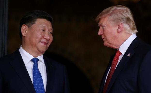 Los presidentes de China y Estados Unidos, Xi Jinping y Donald Trump. / REUTERS