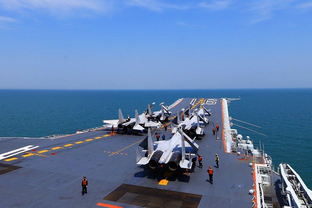 Buque de guerra chino navegando por el Mar de China. (Foto: https://es.news-front.info/)