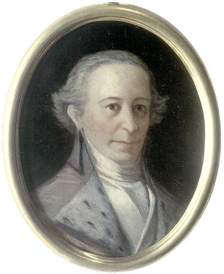 Gaspar Melchor de Jovellanos (1744 - 1811). Retrato de Suárez Llanos (1864)