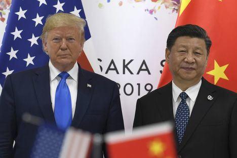 Los presidentes de EE.UU. y China, Donals Trump y Xi Jinping.