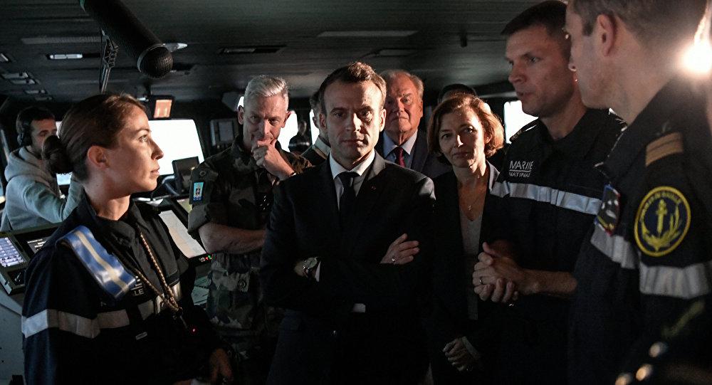 'Un Ejército Europeo a la medida de Macrón' .(Foto: www.mundo.sputniknews.com)