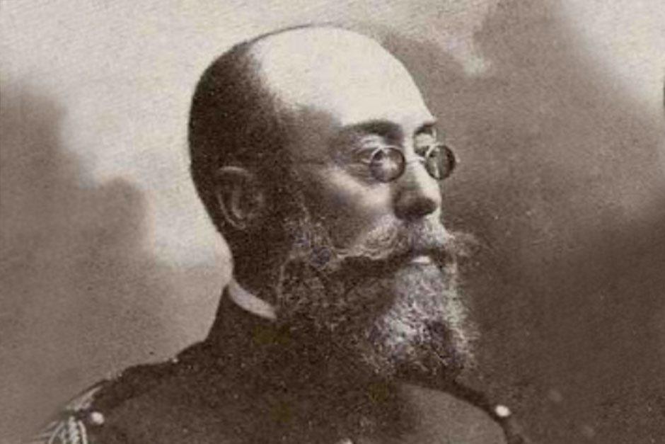 José Ibáñez Marín (Enguera-Valencia 1862 - Melilla 1909). (Foto: Real Academia de la Historia).