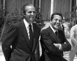SM el Rey Juan Carlos y Adolfo Suárez González. (Foto de archivo www.elmundo.es)