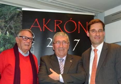 Manuel Jurado, J.M Martínez Valdueza y Alejandro Estivill