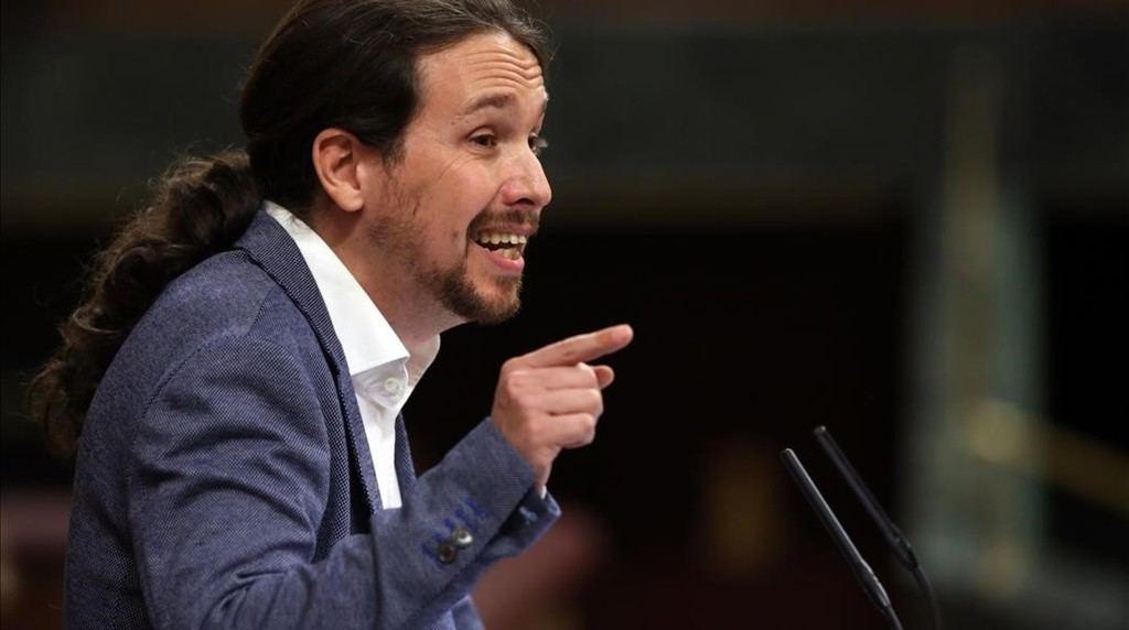Preocupantes modos de Pablo Iglesias en el Congreso.