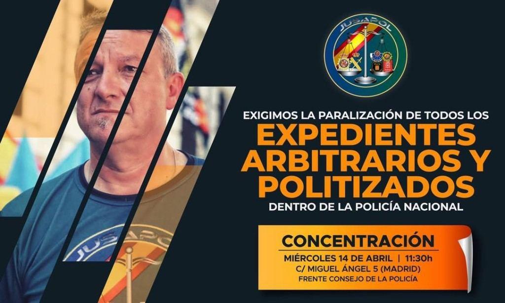 Agentes de Policía Nacional y Guardia Civil contra la arbitrariedad y politización de sus mandos
