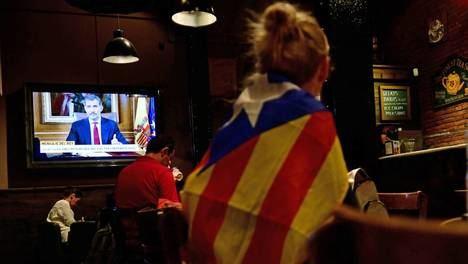 El discurso del Rey sobre la situación en Cataluña el 4 de octubre de 2017. Foto: www.elpais.com