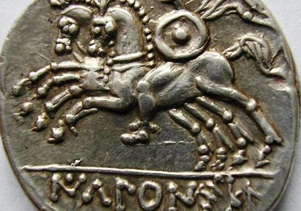 Moneda olcade del siglo II a.C. Foto: wikimoneda.com
