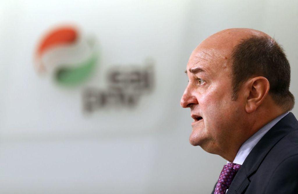 Andoni Ortúzar, jefe de los nacionalistas vascos (PNV). (Foto: Cadena SER).