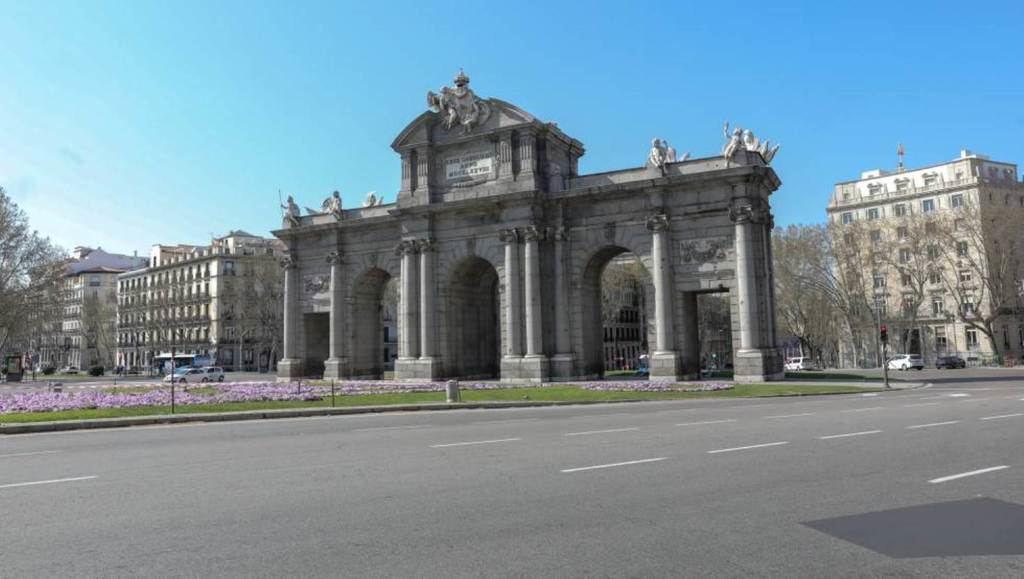 Madrid, tras la declaración del Estado de Alarma. (Foto: El País).