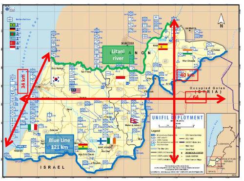 Despliegue de UNIFIL (http://www.emad.mde.es/MOPS/010-Libano-UNIFIL/)