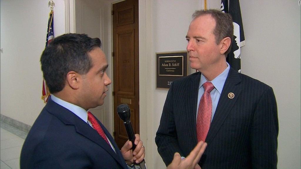 Adam Schiff, congresista demócrata y Presidente del Comité de Inteligencia de la Cámara de Representantes del Congreso de EEUU, uno de los principales instigadores del conflicto Trump-Rusia. (Foto: CNN).