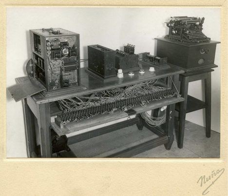 Aritmómetro de Torres Quevedo. (Foto: Museo Torres Quevedo).