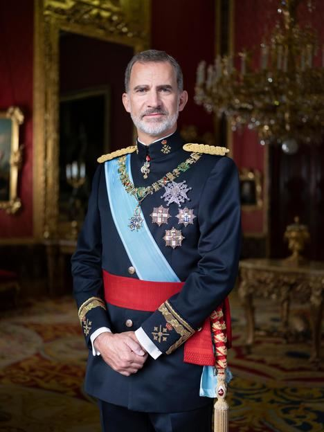 S.M. Felipe VI, Rey de España. (Foto: Casa Real).