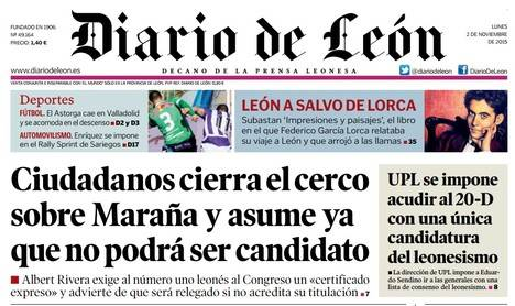 Diario de León - Sadat Maraña Tercer asalto