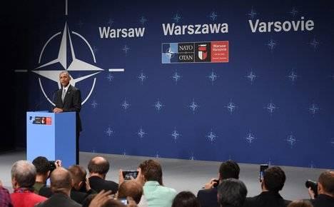 Cumbre de la OTAN en Varsovia el pasado julio de 2016