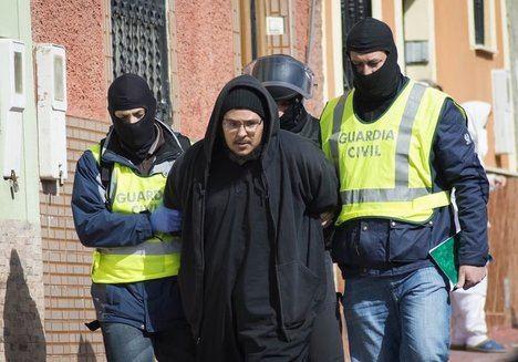 Centenares de yihadistas detenidos en España desde 2015.