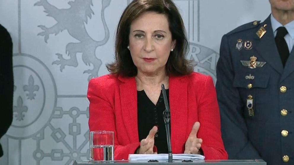La ministra de Defensa Margarita Robles sobre Torra: 'No merece ser llamado responsable político'. (Foto: La Vanguardia).
