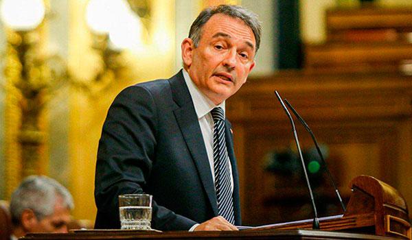 Enrique Santiago, diputado de Podemos y secretario general del PCE/Izquierda Unida, en el Congreso de los Diputados. (Foto: Archivo de Mundo Obrero).