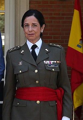 Patricia Ortega, primera mujer General del Ejército en la Historia de España. (Foto: Wikipedia)