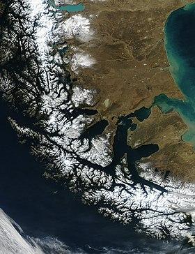 El Estrecho de Magallanes. (Foto: Wikipedia.com)