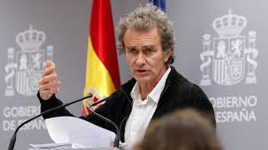 Fernando Simón, director del Centro de Coordinación de Alertas y Emergencias Sanitarias del Ministerio de Sanidad. (Foto: RTVE)
