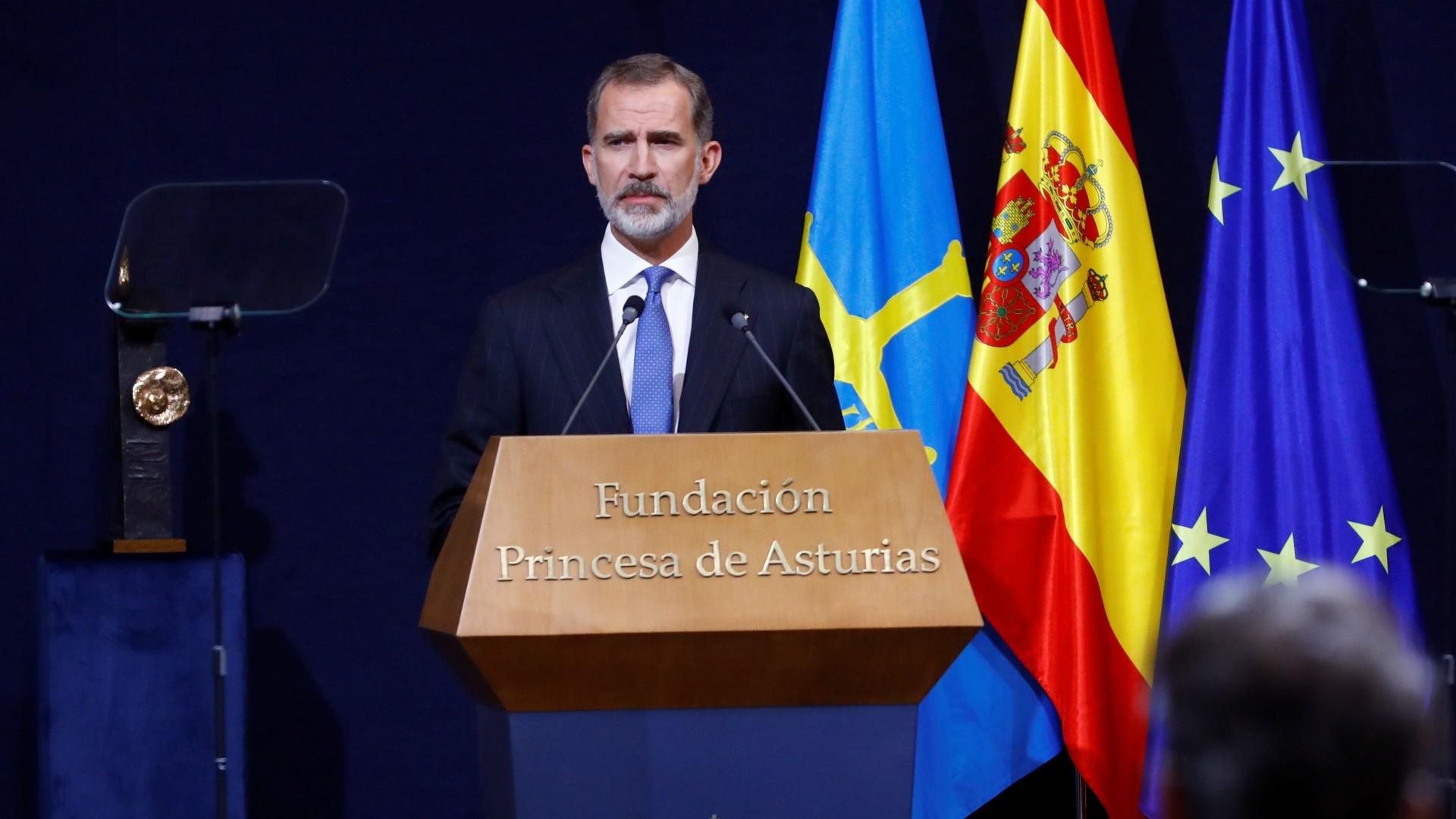 César Luena durante su comparecencia