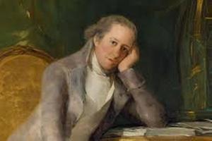 Gaspar Melchor de Jovellanos y Ramírez, Gijón (Asturias), 5.I.1744 – Puerto de Vega (Asturias), 27.XI.1811. Político y escritor ilustrado. (Real Academia de la Historia).