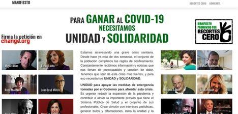 ¿Por qué pido, con 1.999 firmantes más, unidad y solidaridad?