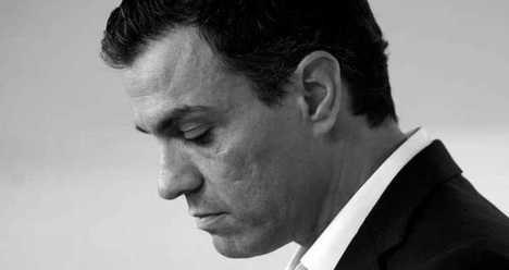 Pedro Sánchez, Secretario General del PSOE presenta en el Congreso una moción de censura contra Rajoy