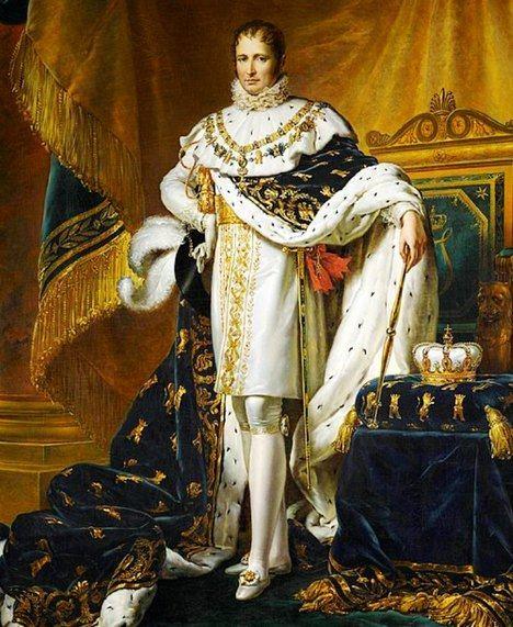José Bonaparte, Rey de España por la gracia de su hermano Napoleón, por François Gérard (c. 1808).