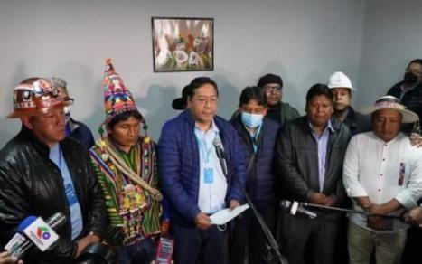 El delfín de Evo Morales, Luis Arce Catacora, vencedor de las elecciones en Bolivia. (Foto: www.laprensa.com.bo)