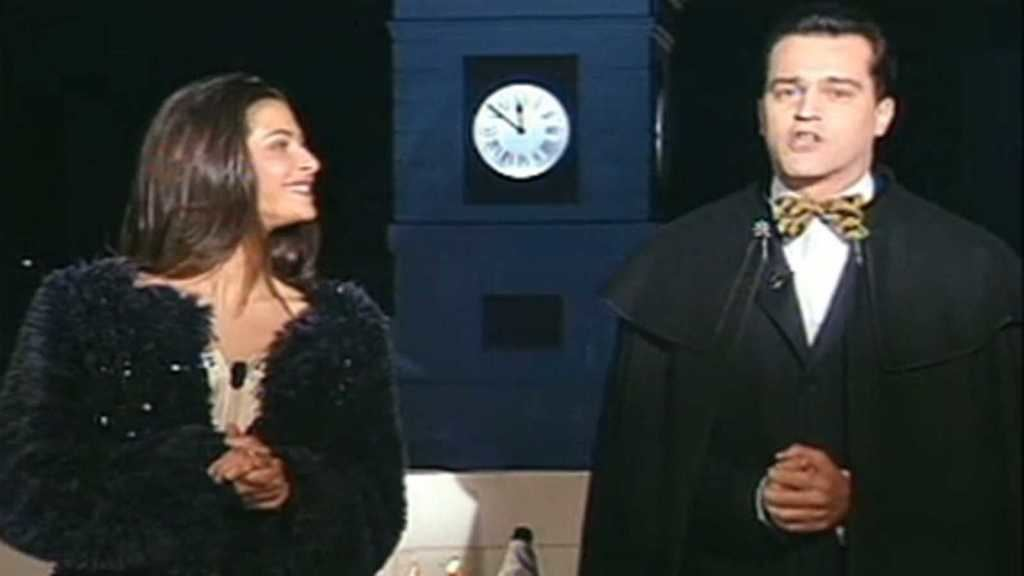 '... el  31 de Diciembre de 1999, nos abrió la puerta, no solo de un año nuevo 2.000, sino un nuevo siglo XXI y un nuevo milenio...' (Foto: RTVE).