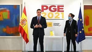 El Gobierno de España presenta los Presupuestos Generales del Estado 2021. (Foto: RTVE)