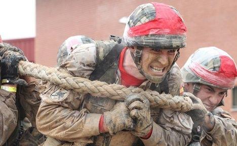 Ejército de Tierra: Espíritu de sacrificio. (Foto: https://ejercito.defensa.gob.es/).