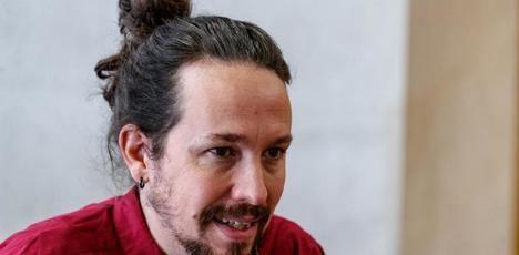 El ínclito Pablo Iglesias Turrión, vicepresidente del Gobierno Español por la gracia del presidente Sánchez.