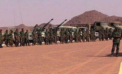 El Ejército Polisario en máxima alerta con el apoyo de los militares argelinos