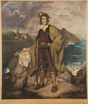 Juan Sebastián Elcano, por Ignacio Zuloaga.