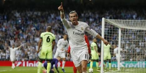 Bale celebrando el gol de la victoria. (Foto: L'Équipe - Reuters)