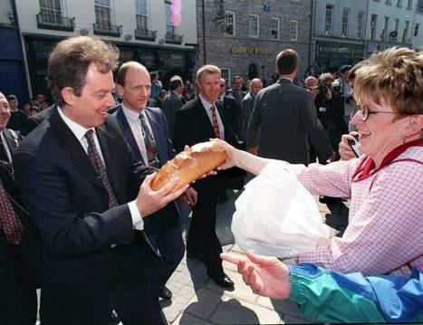 Tony Blair en el Ulster (Foto: Getty Images)
