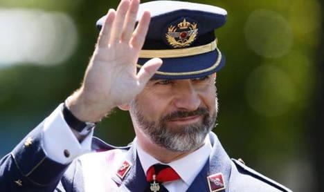 Felipe VI, Rey de España y Jefe de sus Fuerzas Armadas