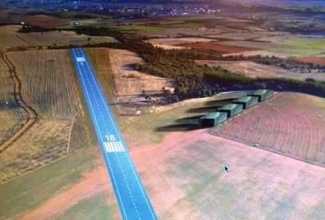 El nuevo aerodromo de Astorga