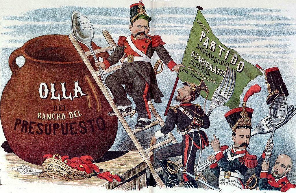 Caricatura de Demócrito (siglo XIX). Wikipedia