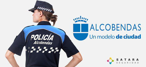Imagen corporativa de la Policía Local de Alcobendas, la mejor pagada de España. (Foto: www.sataraseguridad.com)
