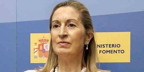 Ana Pastor, ministra de Fomento en funciones