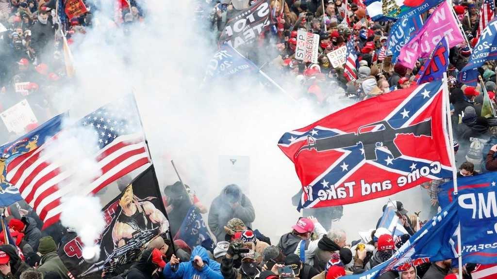 Manifestantes pro-Trump asaltan el Capitolio en Washington. (Foto: RTVE).