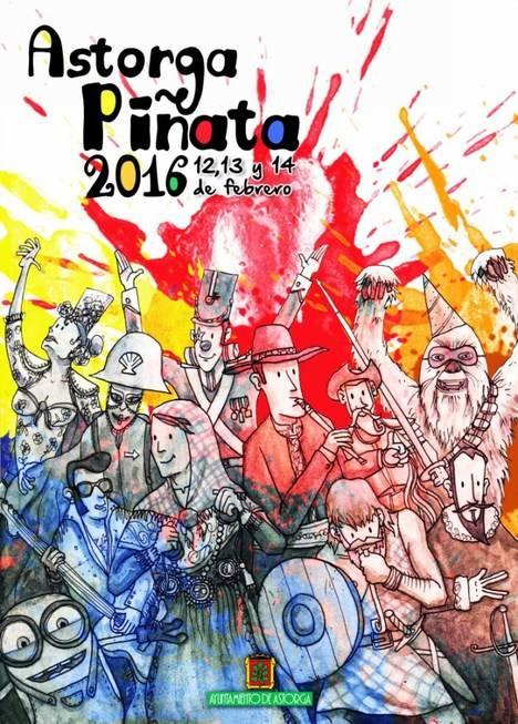 Cartel de Piñata 2016, Astorga