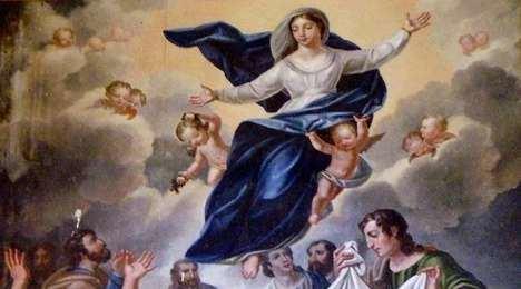 Asunción de María en la Basílica de San Martín de Tours / Crédito: Wikimedia Commons