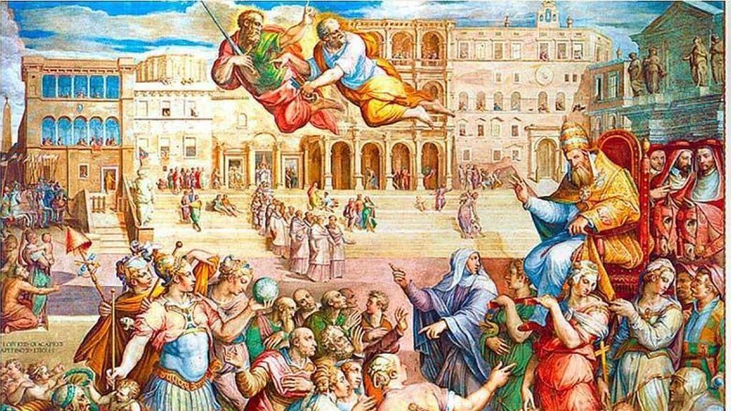 Cisma de Occidente: el Papado de Avignon.